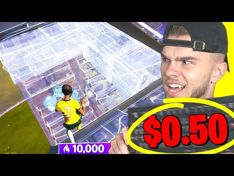I played Fortnite with the CHEAPEST KEYBOARD...