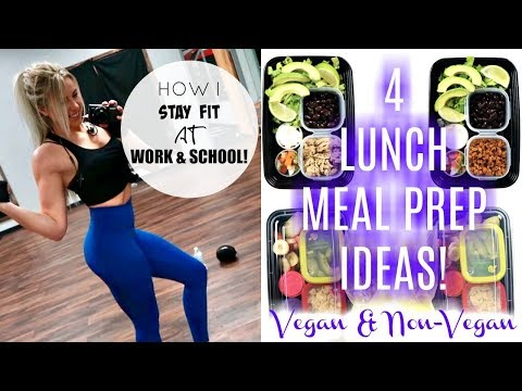 Healthy Lunch Meal Prep Ideas | How I stay fit at school&work!