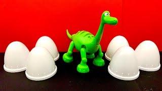 Dinosaur Surprise ☺️ डायनासोर, अचरज, पेप्पा सुअर, Peppa Pig, Masha, Fireman Sam