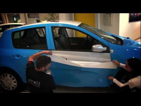 VINELIT.-CAR WRAPPING RENAULT CLIO VINYL 3M  .-VINELIT