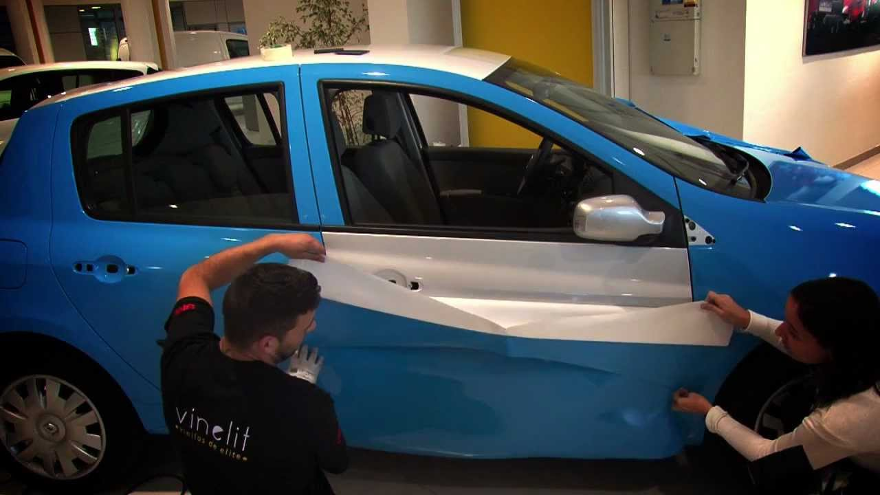 Vinelit Car Wrapping Renault Clio Vinyl 3m Vinelit