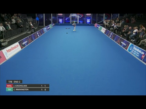 Just. 2019 World Indoor Bowls Championships: Day 6 Session 3