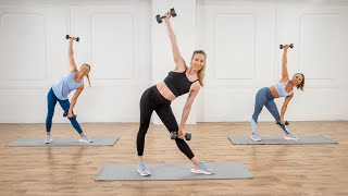 20-Minute Toned Arms & Abs Workout