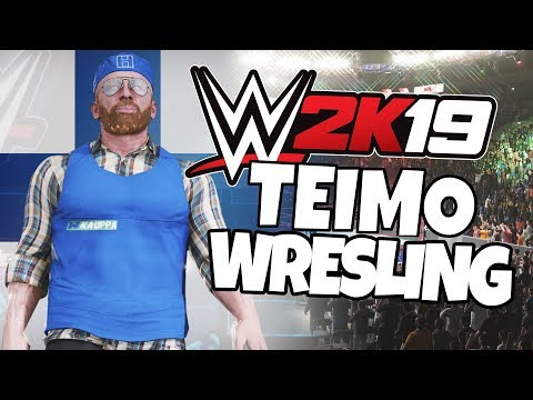Teimo Wrestling WWE 2K19 - Finland Versus Sweden