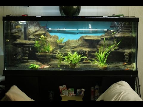 aquarium selber bauen aquarium deko selber bauen youtube. Black Bedroom Furniture Sets. Home Design Ideas