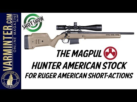 The New Magpul Hunter American Stock for Ruger American Short Action Rifles