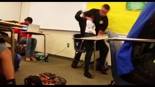 (UNCUT) Columbia, SC Deputy Armed Pig, Ben Fields, Brutally Attacks Child In School at Spring Valley