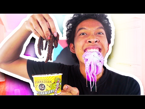 Thumbnail: Gummy Foods VS. REAL FOOD!!!