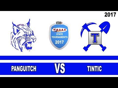 1A Girls Basketball: Pangitch vs Tintic High School UHSAA 2017 State Tournament Quarterfinals