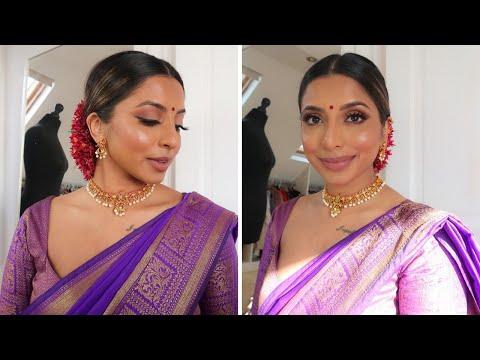 Indian/Tamil GRWM: Easy Eye Makeup Look | Jumani MUA