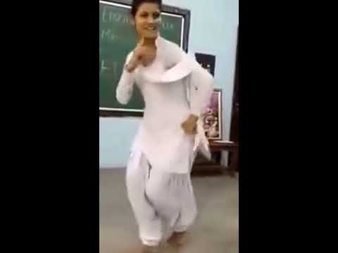 Pakistani Girl dance in school