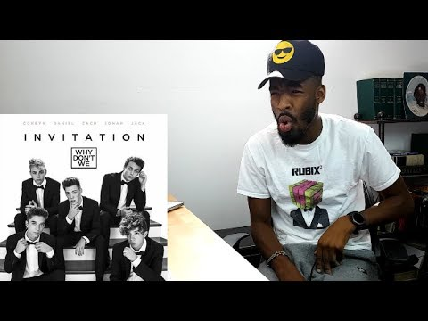 Why Don't We - Invitation - (FIRST REACTION)