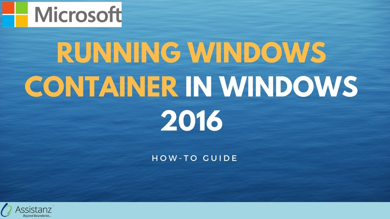 Running Windows Container