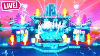 The MARSHMELLO LIVE EVENT in Fortnite..