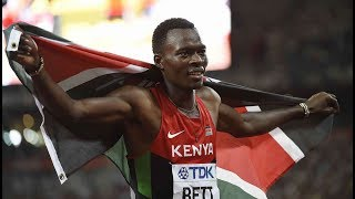 Kenyan athletes eulogise World Champion Nicholas Bett