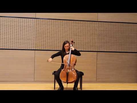 Sir D. F. Tovey (1875-1940) - Sonata for cello solo - Allegro con brio ma largamente (1rst mvt)