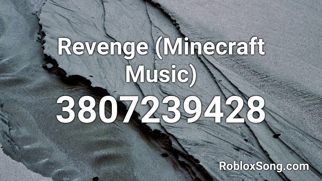 roblox revenge song id
