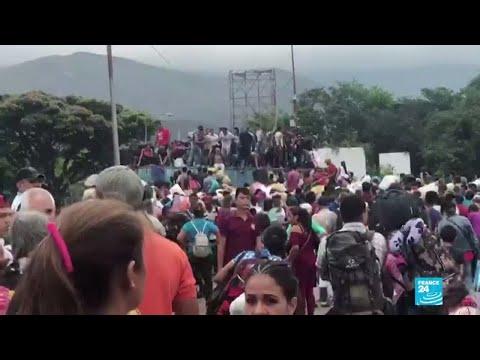 Tensión por bloqueos y despliegue militar ruso en la frontera colombo venezolana