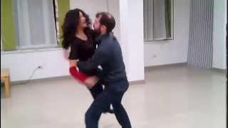 Урок свинга в Студии социальных танцев