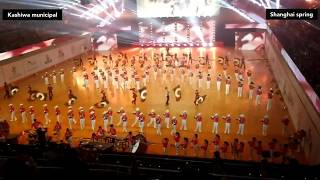 """Kashiwa Municipal Senior High School"" Marching Band Japan.  Shanghai international music festival"