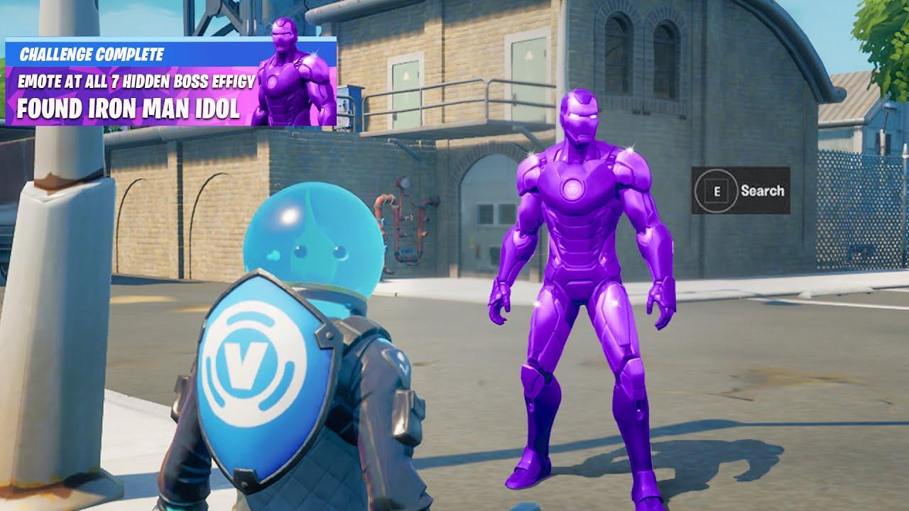 Fortnite Boss Iron Man Secret Reward