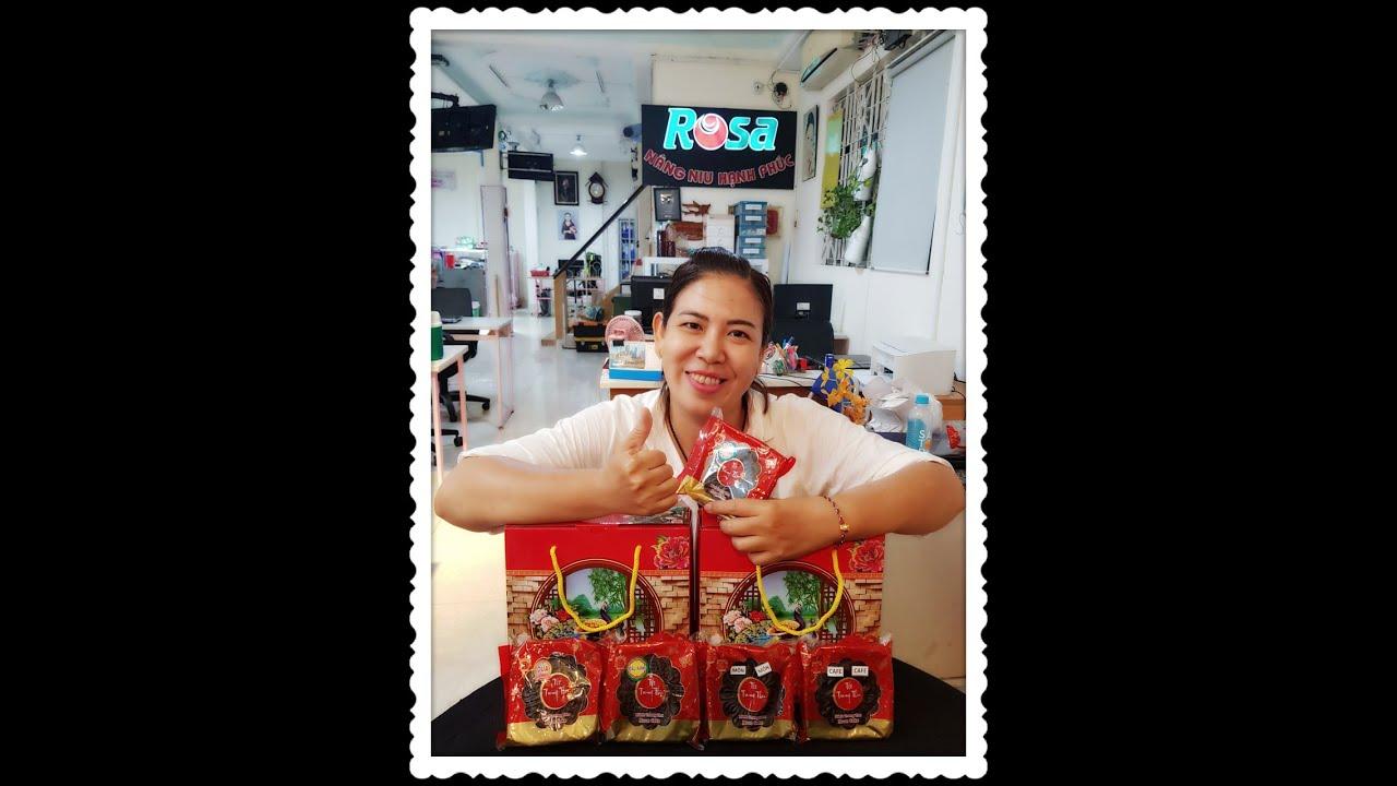 Cùng Phúng Cô Cô Khui Bánh Trung Thu socola nhân dừa dinh dưỡng ít ngọt
