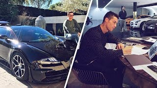 Cristiano Ronaldo's insane car collection - Oh My Goal