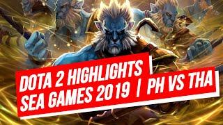 DOTA 2 SEA GAMES 2019 GOLD MATCH HIGHLIGHTS | BEST COMEBACK EVER!!!!