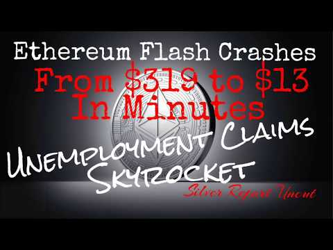 Unemployment SkyRockets! Ethereum Flash Crash! Elite Prepping for Economic Collapse