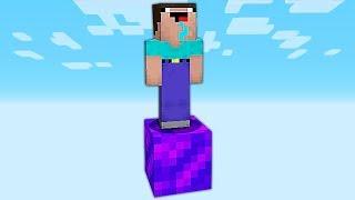 КАК ВЫЖИТЬ НУБУ НА ОДНОМ БЛОКЕ В АД В Майнкрафте! Minecraft Мультики Майнкрафт троллинг Нуб и Про