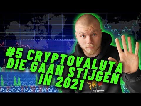 WELKE CRYPTOCURRENCY GAAT STIJGEN IN 2021: Top #5 Veelbelovende Crypto om in te Investeren!