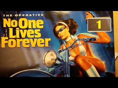 No One Lives Forever [#1] Starring Cate Archer as The Operative