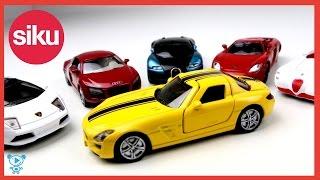 SIKU Toys Cars Siku Sport Cars for kids іграшка Siku Siku Porsche Lamborghini Siku Bugatti, Mercedes і Audi