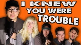 I Knew You Were Trouble - WALK OFF THE EARTH Feat. KRNFX(Download or Stream our new album