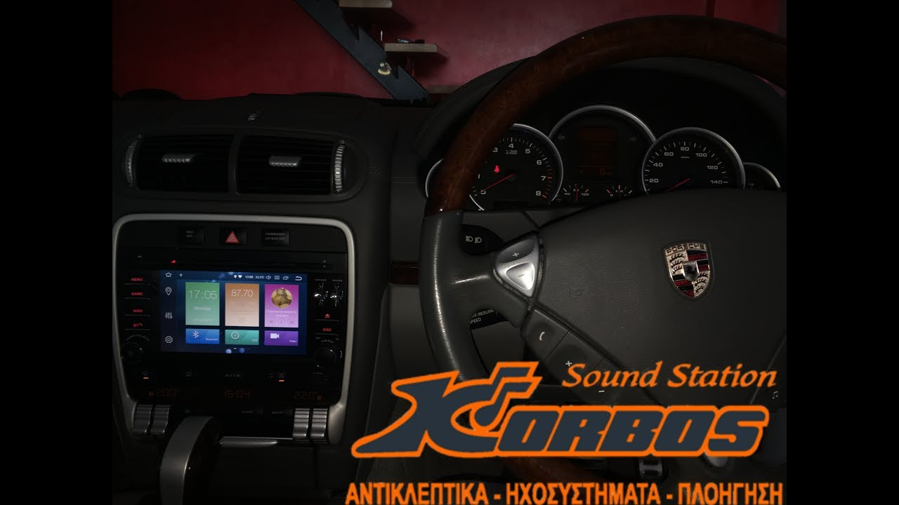 Porsche Cayenne Android 8 Car Stereo-multimedia ww.korbos.gr