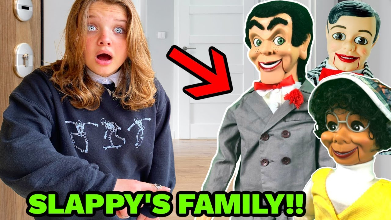 SLAPPYS Family IS BACK!! The Real Slappy and Danny Return! Goosebumps in REAL life!