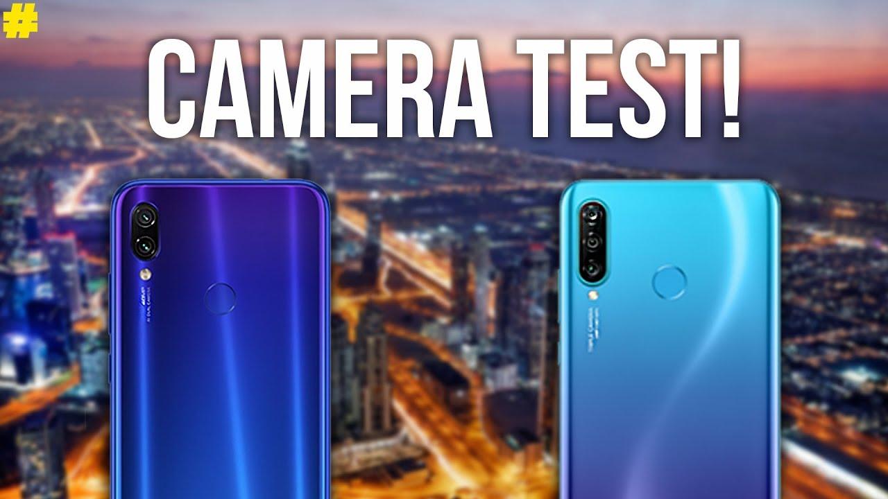 Xiaomi Redmi Note 7 Vs Huawei P30 Lite  Camera Comparison