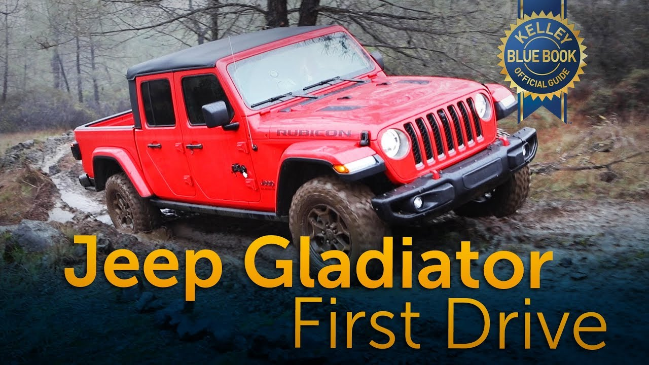 2020 jeep gladiator  first drive  youtube