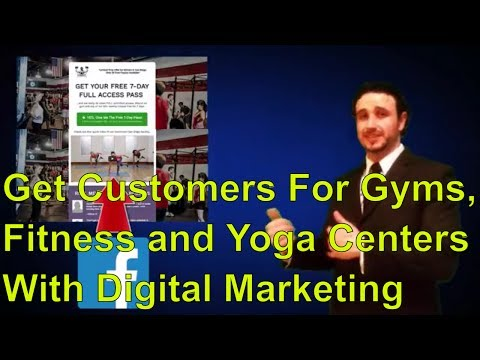 Digital Marketing For Gyms, Yoga and Fitness Centers