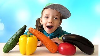 Learn Сolors and Name of Vegetables with UT kids