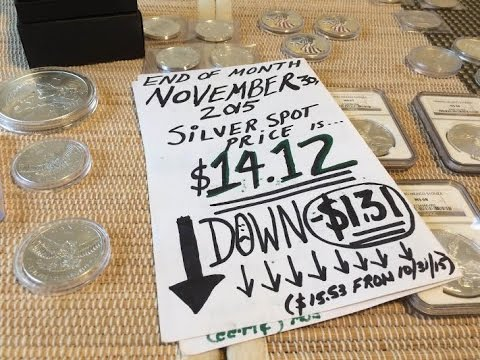 MO#23 NOV. 2015 MONTH END TOTALS /Silver stack pick ups $dollar total