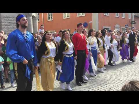 Här dundrar karnevalen genom Arboga