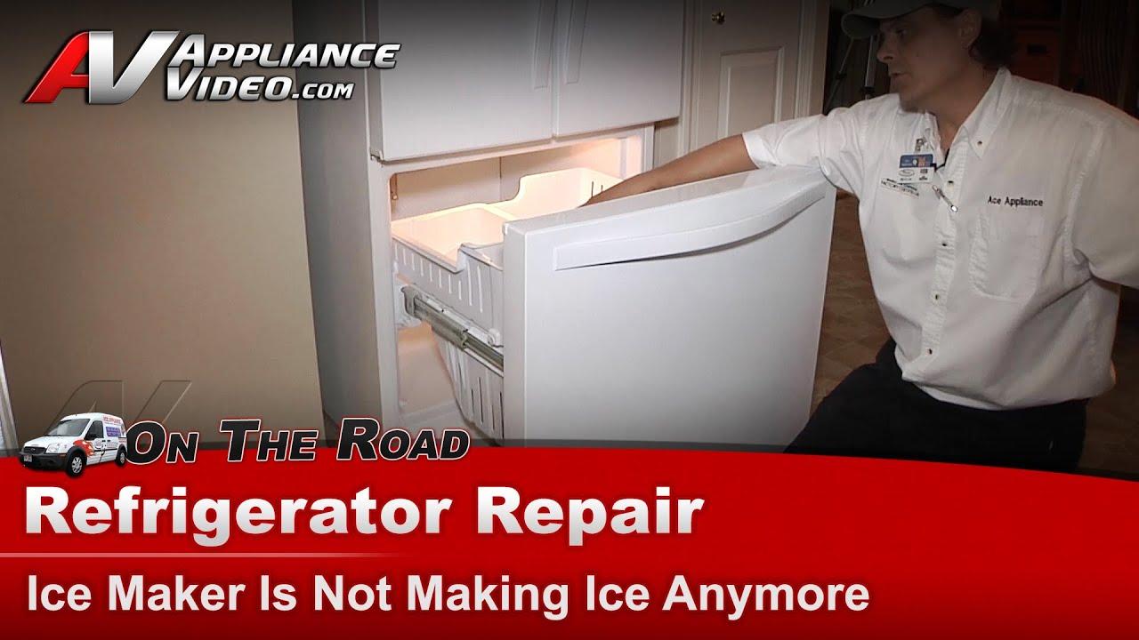 whirlpool refrigerator repair not making ice wrf560sexw00 [ 1280 x 720 Pixel ]