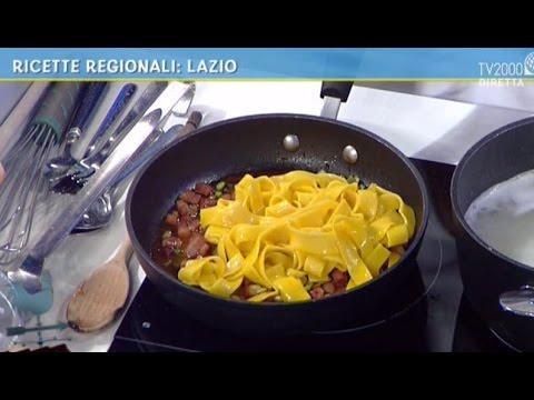 Ricette regionali del lazio e della basilicata youtube for Ricette regionali