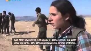 Kobani'de Durum Ne, YPG işid Çatışma Anı