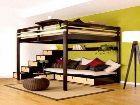 Loft Bed | Loft Bed Ikea - YouTube