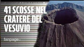 Sciame sismico Vesuvio, scosse di terremoto e paura. L'Ingv: