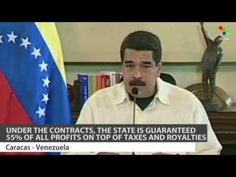 Venezuela Signs Mining Deals Worth $4.5 Billion