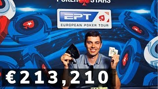 Mikhail Rudoy Wins First EPT Barcelona €25K 6+ Hold'em High Roller