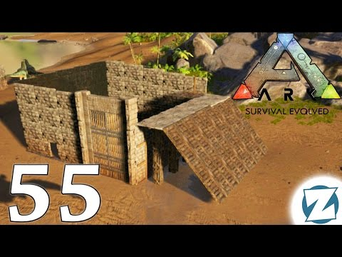 ARK Survival Evolved Gameplay - Ep55 - Dinosaur Taming Trap! - Let's Play